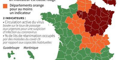 Coronavirus: le nombre de personnes infectées identifiées a augmenté de 45 et le nombre de personnes décédées de 2