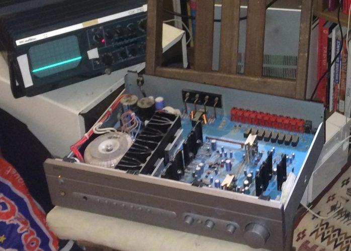 Comment réparer un amplificateur audio maison cassé