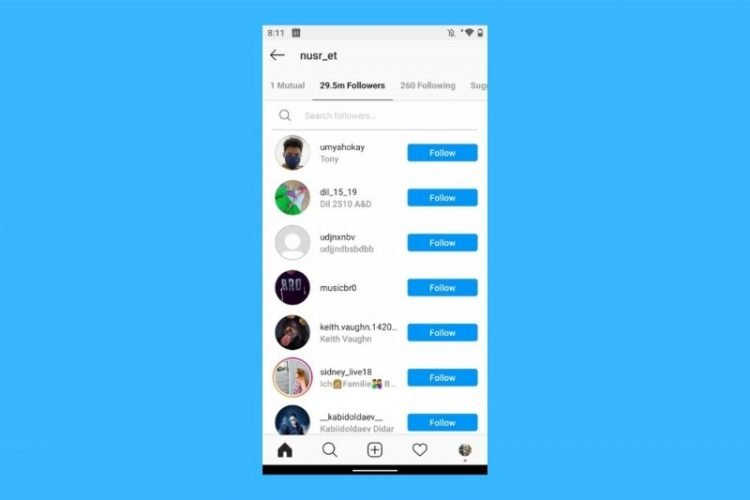 Comment savoir qui a cessé de vous suivre sur Instagram